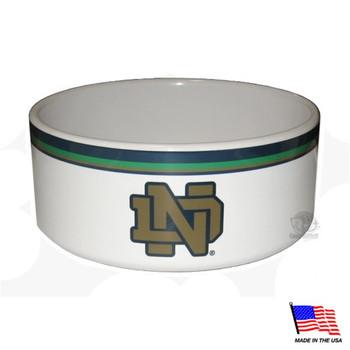 Notre Dame Ceramic Pet Bowl