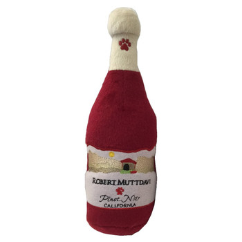 Robert MUTTdavi Wine Plush Dog Toy