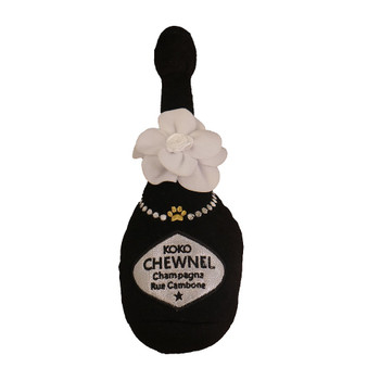 Koko Chewnel Champagne Plush Dog Toy