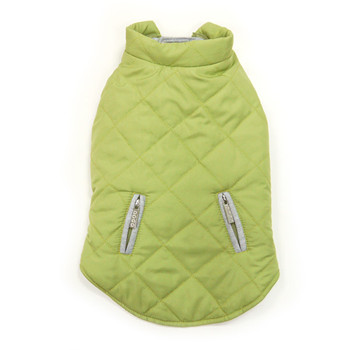 City Puffer Pet Dog Jacket - Green