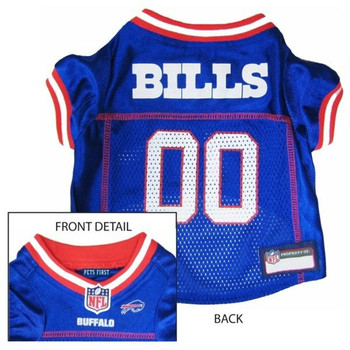 Buffalo Bills Dog Jersey  - Small