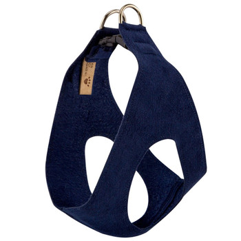 Front view Indigo Blue Step In Harness by Susan Lanci
