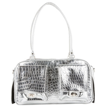 Marlee Pet Dog Carrier - Silver Gator by Petote