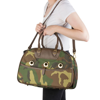 Ariel Camo Pet Dog Carrier