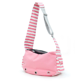 Pet Dog Soft Sling Bag - Pink