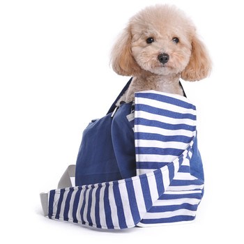Pet Dog Soft Sling Bag - Blue