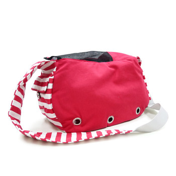 Pet Dog Soft Sling Bag - Red