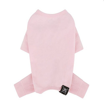 Puppy Angel Mac Daily Dog Coverall / Pajama - Pink