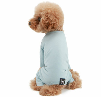 Puppy Angel Mac Daily Dog Coverall / Pajama - Blue