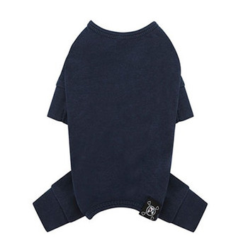 Puppy Angel Mac Daily Dog Coverall / Pajama - Navy Blue