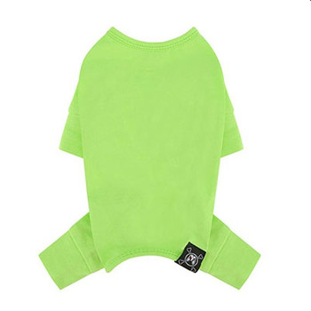 Puppy Angel Mac Daily Dog Coverall / Pajama - Lime Green