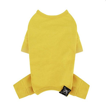 Puppy Angel Mac Daily Dog Coverall / Pajama - Yellow