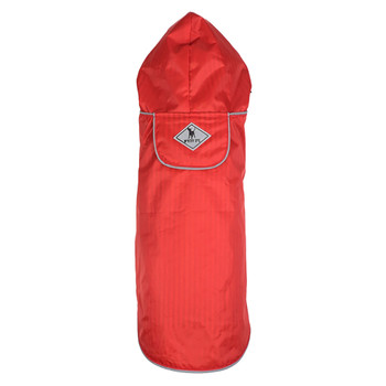 Red Seattle Slicker Dog Raincoat