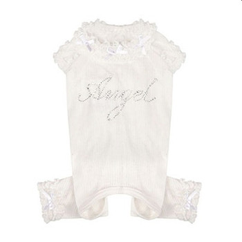 Puppy Angel Sweetie Bebe Angels / Pajama - Ivory