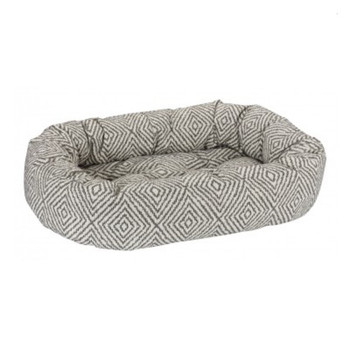 Diamondback Micro Jacquard Donut Pet Dog Bed