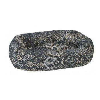 Mendocino Micro Jacquard Donut Pet Dog Bed