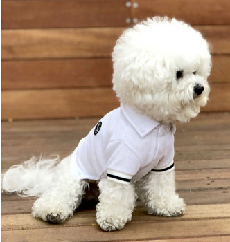 Puppy Angel Basic Polo Shirts - White