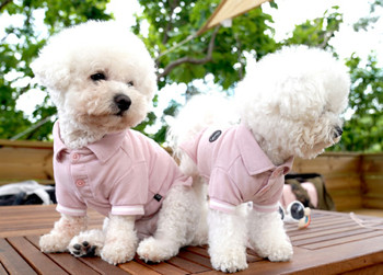 Puppy Angel Basic Polo Shirts - Pink