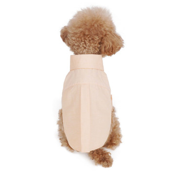 Puppy Angel Simple Long Dog Shirts - Coral