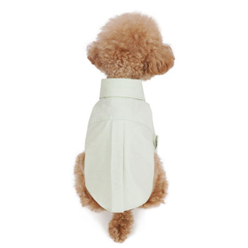 Puppy Angel Simple Long Dog Shirts - Lt Green