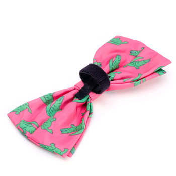Al the Gator Pet Dog Bow Tie