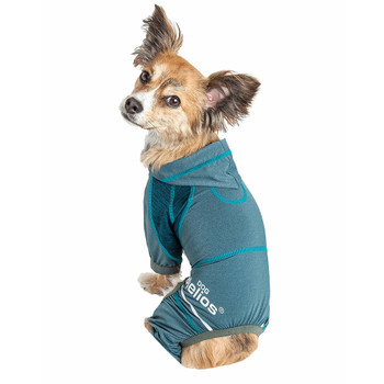 Helios 'Namastail' Lightweight Full Bodied Dog Tracksuit - Teal