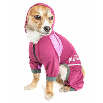 Helios 'Namastail' Lightweight Full Bodied Dog Tracksuit - Pink