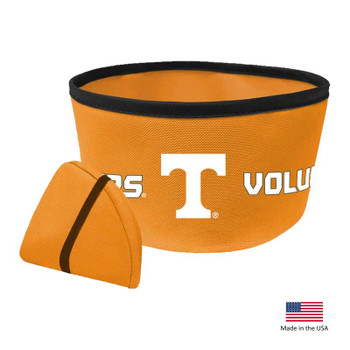 Tennessee Volunteers Collapsible Pet Bowl
