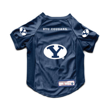 Brigham Young Cougars Pet Stretch Jersey