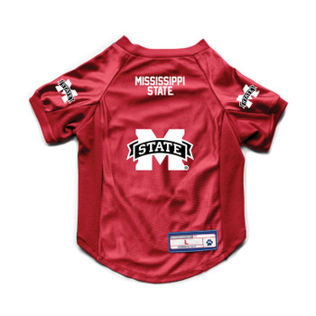 Mississippi State Bulldogs Pet Stretch Jersey