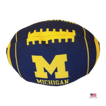 Michigan Wolverines Football Toss Toy
