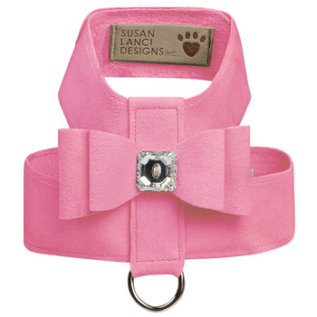 Perfect Pink Big Bow Tinkie Harnesses by Susan Lanci - In Stock