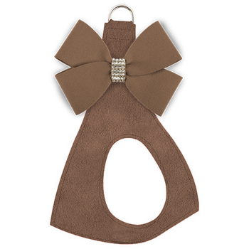 Custom - Fawn Nouveau Bow Dog Harness - Stardust or not