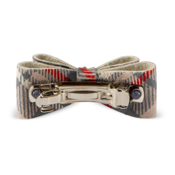 Scotty Plaid Giltmore Dog Hair Bow Barrettes  - More Colors