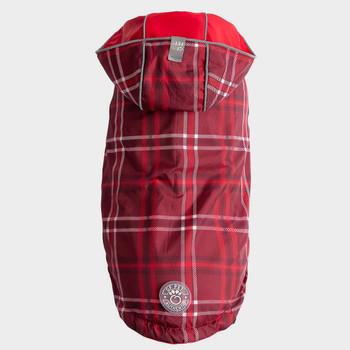 Reversible Reflective Dog Raincoat | Red - XXXS - 4XL