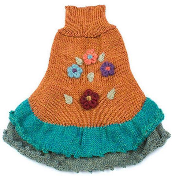 Alpaca Dog Dress - Happy Walks Dress