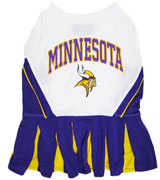 Minnesota Vikings Cheerleader Dog Dress