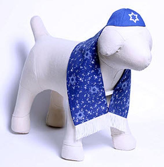 Dog Yarmulke or Tallis