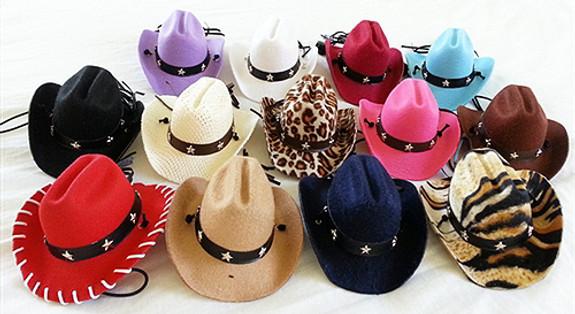 meet c9e80 6e67b Dog Cowboy Hats   PupRwear   GW Little