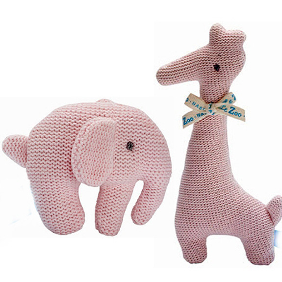 Le Giraffe or Le Elephant - Pink