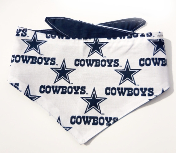 Dallas Cowboys NFL Dog Bandanas