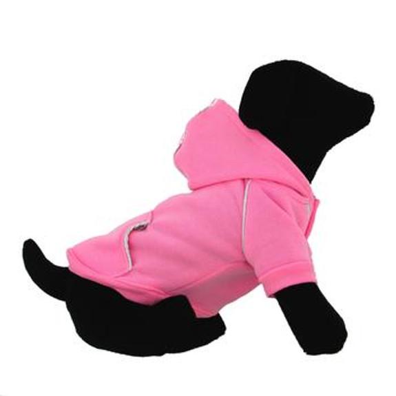 Sport Dog Hoodie - Carnation Pink - Tiny - Big Dog Sizes