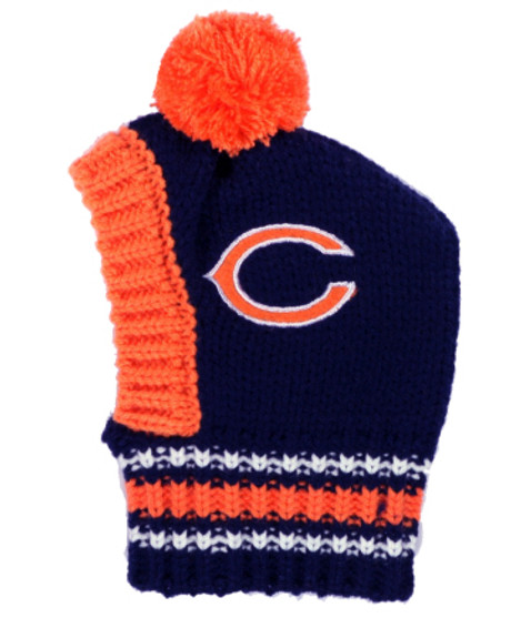 official photos a34ac decec NFL Chicago Bears Knit Dog Ski Hat