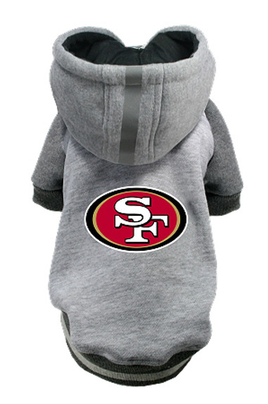 new concept 279dc e7fb4 NFL San Francisco 49ers Licensed Dog Hoodie - Small - 3X