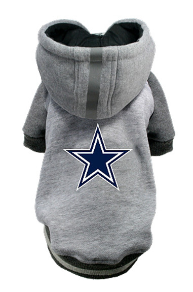 watch f54c6 684a7 NFL Dallas Cowboys Licensed Dog Hoodie - Small - 3X
