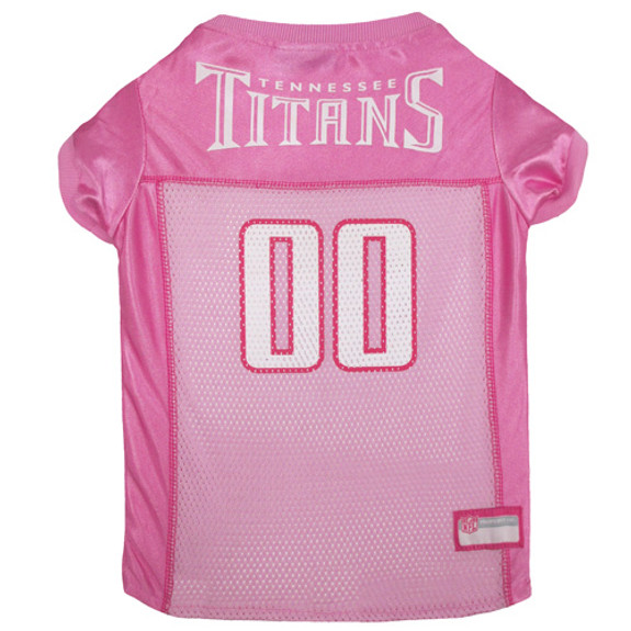 Tennessee Titans Pink Pet Jersey
