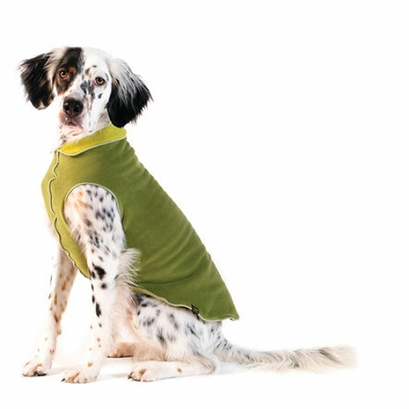 Moss / Avocado Duluth Double Fleece Dog Wrap
