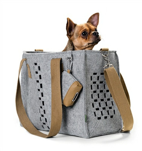 Country Gray Pet Dog Carrier