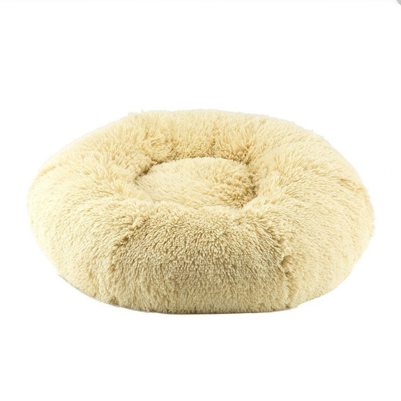 Designer Plush Camel Shag Spa Bed