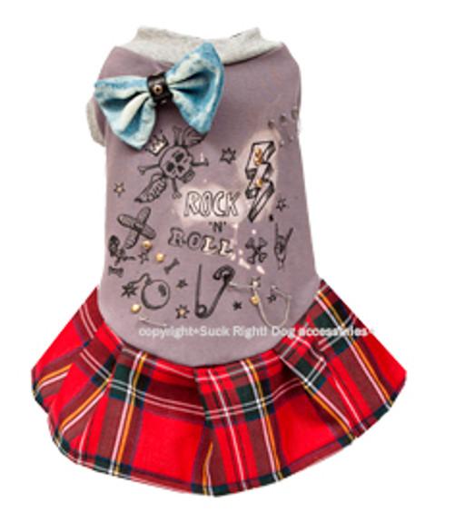 Designer Rock N Roll B*tch Dog Dress